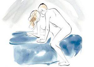 Sex Position - The Corkscrew